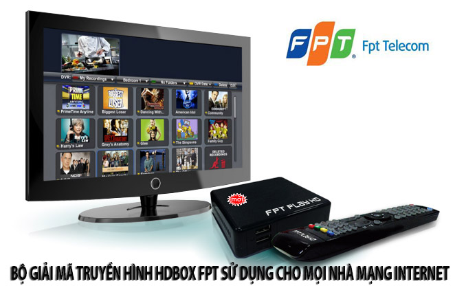 HD box FPT , B gii m HD mng internet FPT
